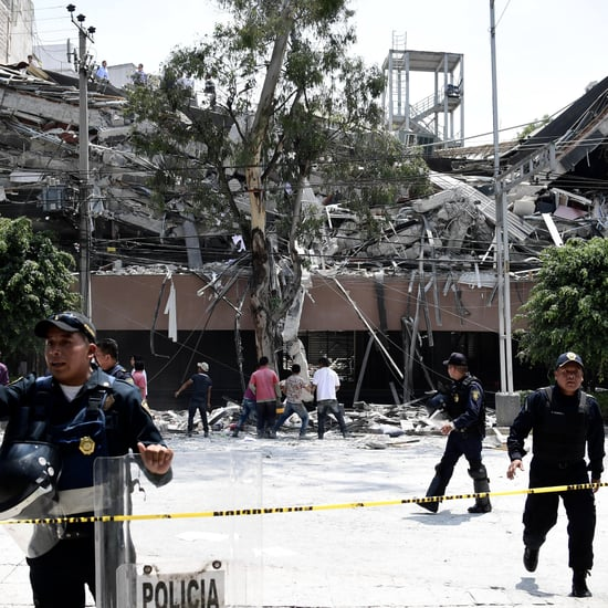 Mexico Hit by Major Earthquake on Sept. 19, 2017