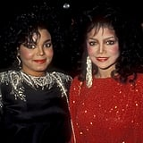 Janet and La Toya Jackson