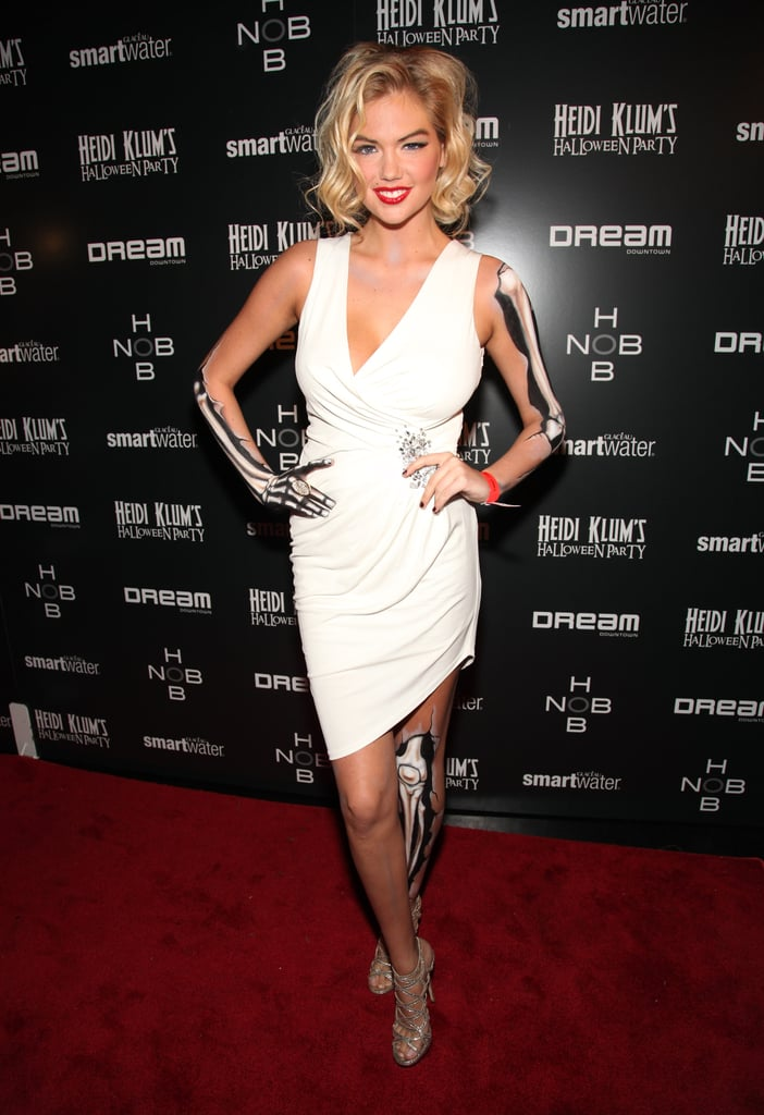Kate Upton took a scarier take on Marilynu0027s pinup-girl look for an NYC bash  sc 1 st  Popsugar & Kate Upton took a scarier take on Marilynu0027s pinup-girl look for an ...