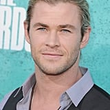 Chris Hemsworth arrived at the MTV Movie Awards.
