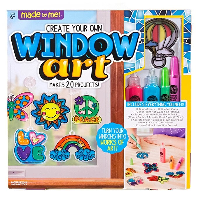 For 6-Year-Olds: Made By Me Create Your Own Window Art