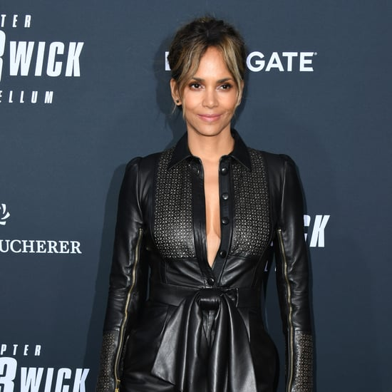 Halle Berry's Fitness Friday Yoga Warmup Routine