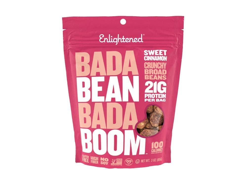 Enlightened Gluten-Free Roasted Broad Fava Bean Crisp Snack