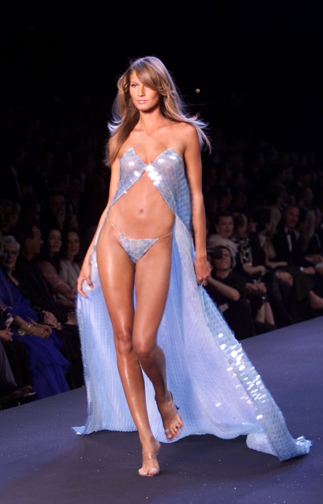 Gisele Bündchen's First Victoria's Secret Fashion Show Runway Walk in 2000 at the Cannes Film Festival