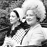 Princess Margaret and her mother arrived at the 1967 Royal Ascot.