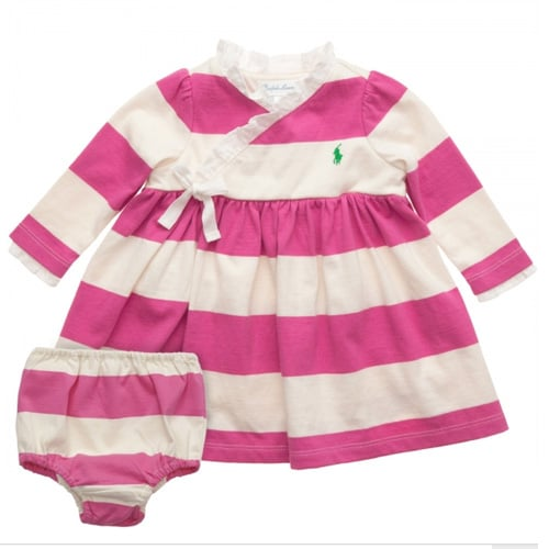Stripey Wrap and Knickers Set
