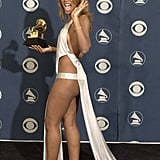 "Toni Braxton wore what looks like a ""thong-type"" costume at the 2001 show."