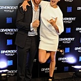 Shailene Woodley and Theo James got silly during a special screening for Divergent in Atlanta on Monday.