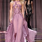 And in Versace Couture Fall '15 . . .