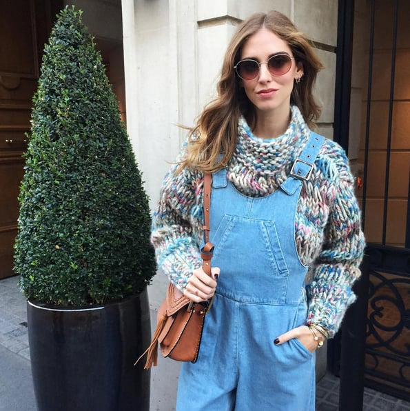 Rock Your Sweater With Overalls