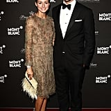 What does one wear to an event honoring Princess Grace of Monaco? For these two, the answer was royally chic ensembles.