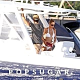 Anna Kournikova wore a bikini during a boat trip in Miam with Enrique Iglesias in June 2013.