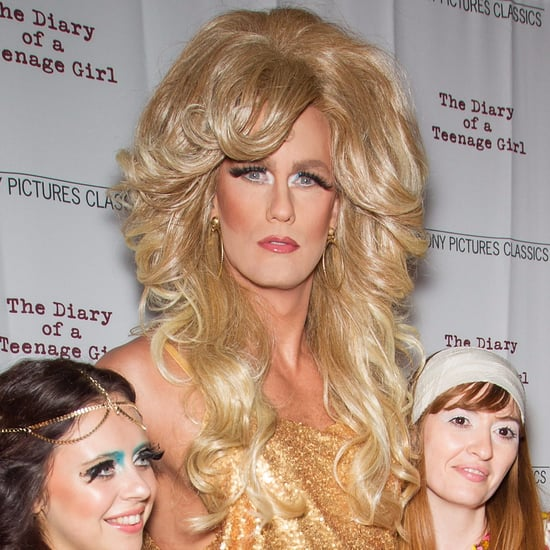 Alexander Skarsgard Dressed in Drag on the Red Carpet