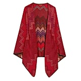 Missoni Reversible Wool-Blend Cape, $1,500