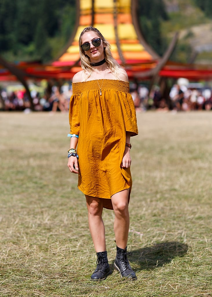 Chokers were a mainstay in music festival wear this year — and for a good reason. They stay put no matter how much dancing you do!