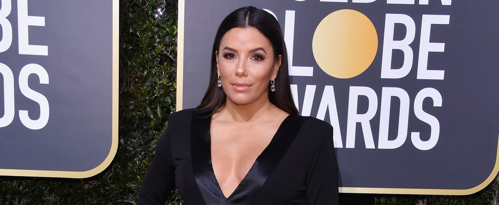 Eva Longoria Calling Out Carson Daly at Golden Globes 2018