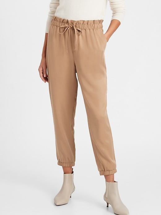 Banana Republic Tencel Paperbag Jogger