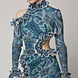 J Lo's Exact Zimmermann Moncur Dress in Paisley Print