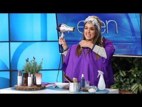 """When She Let Ellen """"Do Her Hair"""""""