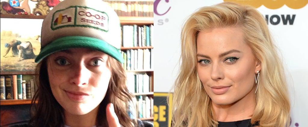 Margot Robbie Brunette Hair Change in Z for Zachariah