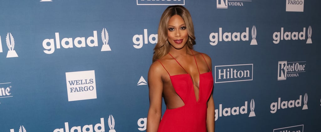 Laverne Cox Looks Like the Polar Opposite of a Prison Inmate at the GLAAD Awards