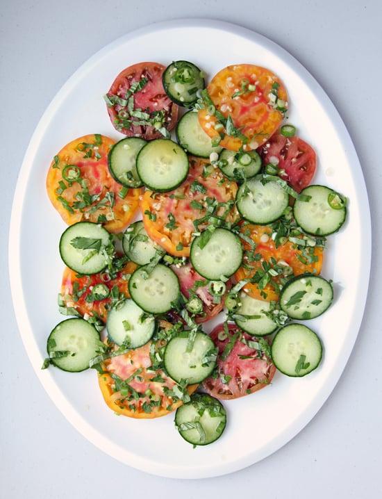 Southeast Asian Tomato-Cucumber Salad