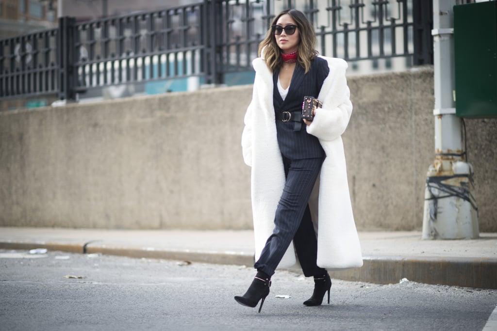 New York Fashion Week Street Style Trends Fall 2016 Popsugar Fashion Uk