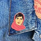 Malala Yousafzai Soft Enamel Pin