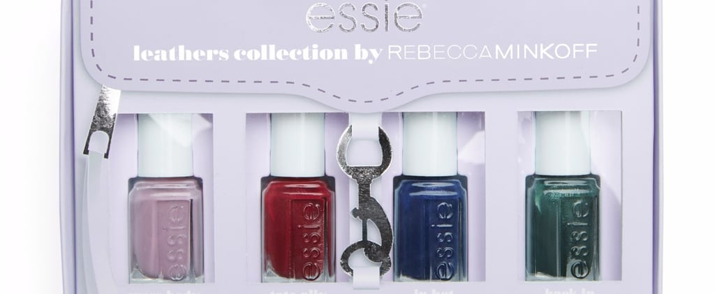 "Essie Teamed Up With Rebecca Minkoff For a ""Leather"" Nail Polish Collection"