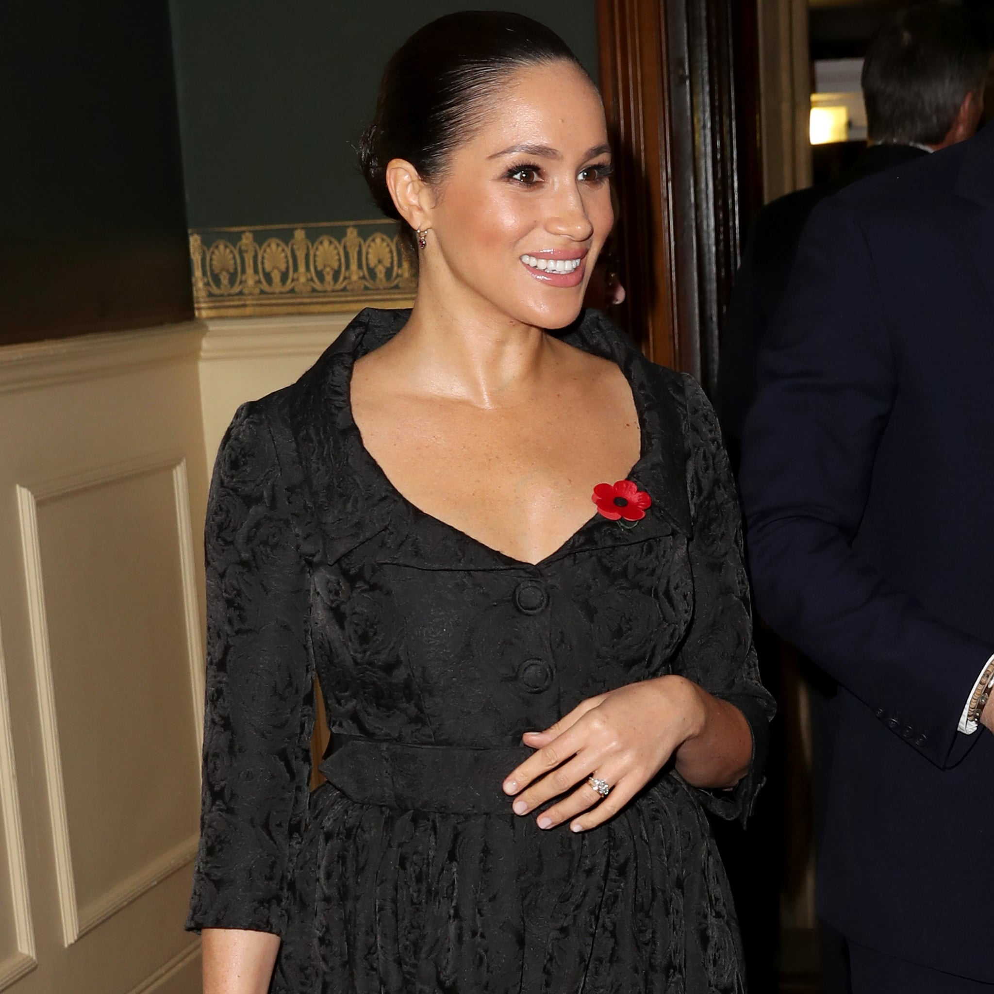 meghan markle s black dress at the festival of remembrance popsugar fashion meghan markle s black dress at the