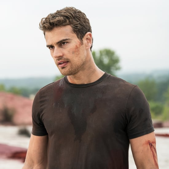 Theo James Pictures in Allegiant