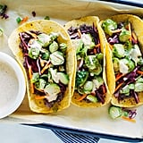 Roasted Brussels Sprouts Tacos
