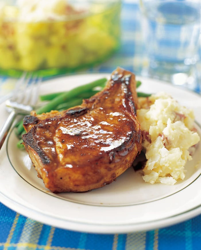 Tennessee Whiskey Pork Chops