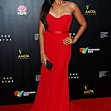 Jessica Mauboy in Steven Khalil at the 2014 AACTA Awards