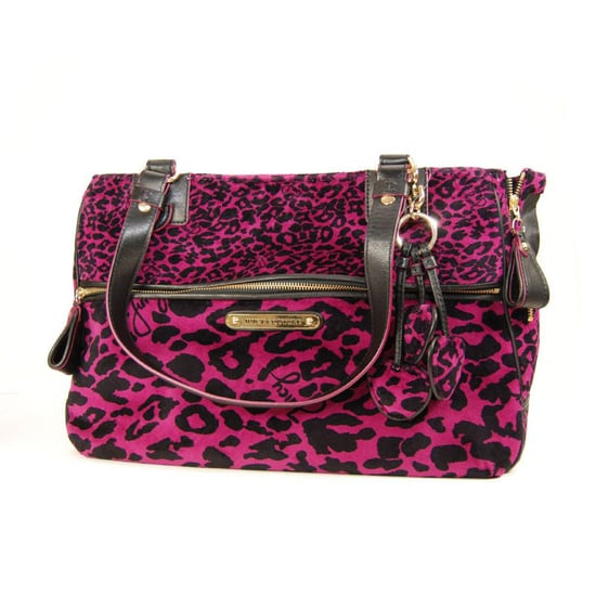 Juicy Couture Leopard Velour Pet Tote Carrier ($298)