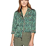 Christopher Street Button-Down Long-Sleeve Blouse
