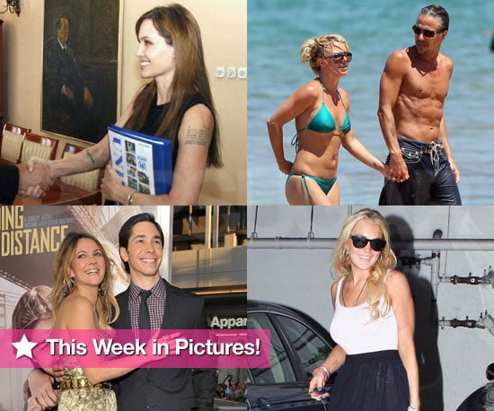Pictures of Britney Spears Bikini, Lindsay Lohan After Rehab, Angelina Jolie in Bosnia and More!