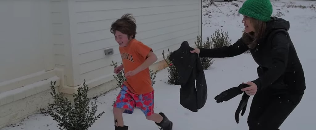 Eminem Parody About Getting Kids to Wear Coats During Winter