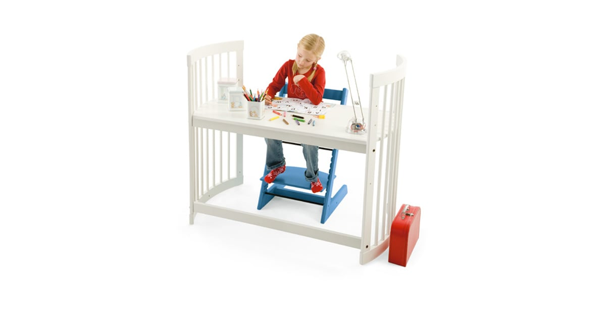 Upcycle Your Changing Table Into A Stokke Desk 47 Creative Ways For Moms To Go Green On Earth Day Popsugar Family Photo 46