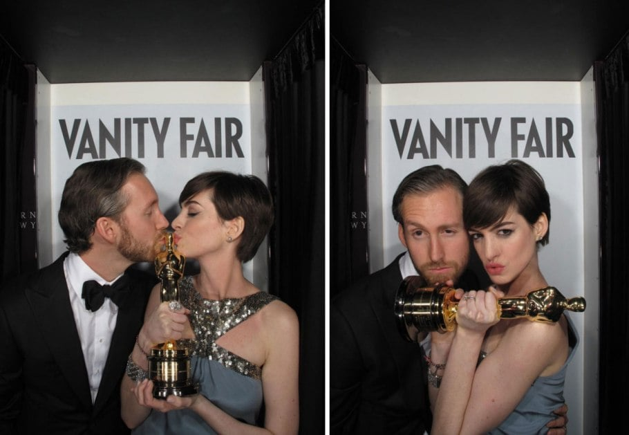 Vanity Fair Oscars Party Photo Booth Pictures | POPSUGAR