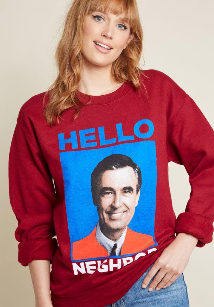 ModCloth Hello Neighbor Graphic Sweatshirt
