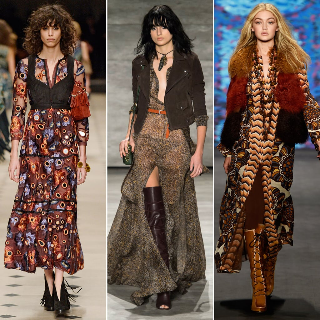 Bohemian Rhapsody Fall Fashion Trends 2015 Runway