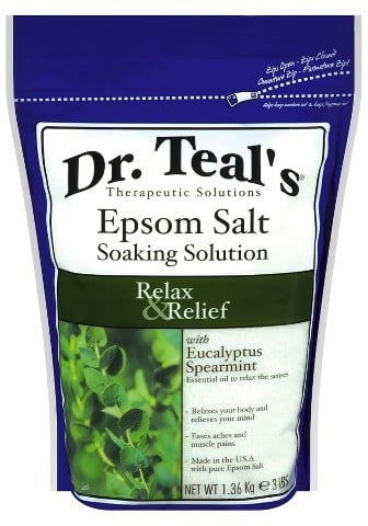 Dr. Teal's Epsom Salt Soaking Solution Relax & Relief
