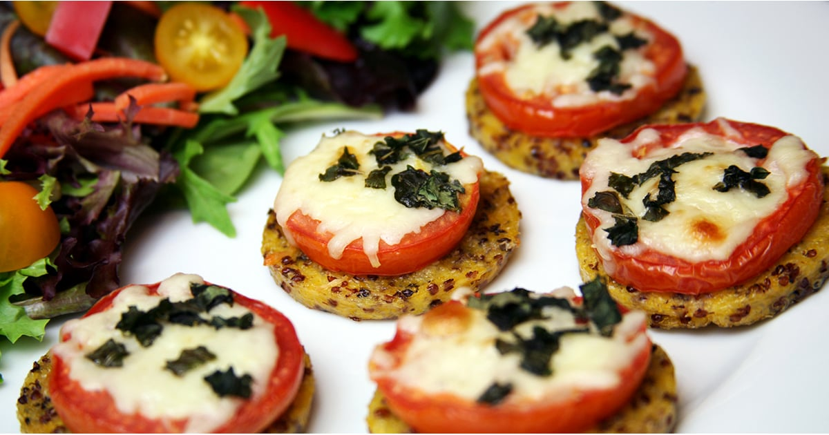 These Quinoa Pizza Bites Are Just 50 Calories