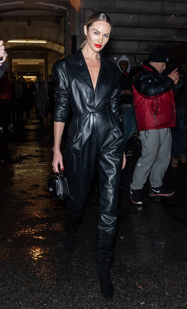 Candice Swanepoel's Street Style at New York Fashion Week
