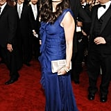 Breathtaking blue for the Screen Actors Guild Awards in 2007.