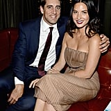 Aaron Rodgers and Olivia Munn