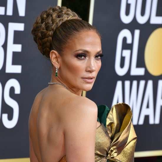 Jennifer Lopez's French Manicure At the Golden Globes 2020