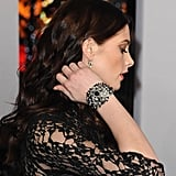 Ashley Greene showed off her jewelry at the 2012 People's Choice Awards.