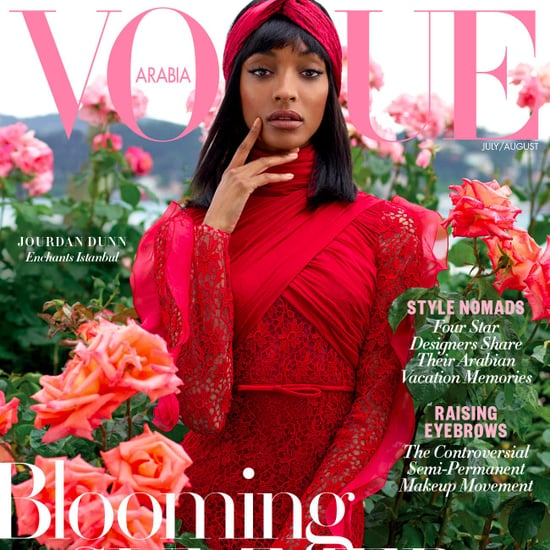 Jourdan Dunn Covers Vogue Arabia | July/August 2017